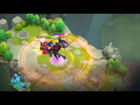 Castle Clash - Dracax Gameplay * Life Drain Talent