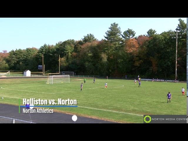 Holliston vs. Norton ~Boys Fall Junior Varsity Soccer 10/10/2020