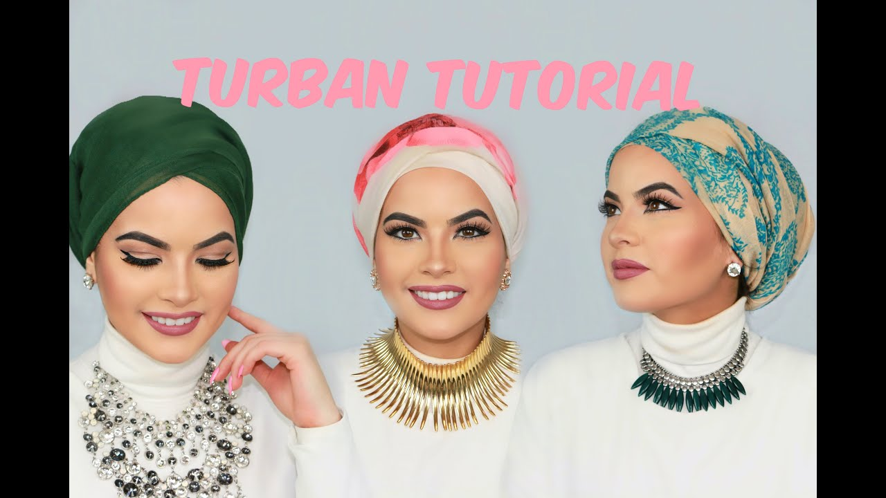 Tutorial Hijab Turban Simple Images Galleries With A Bite