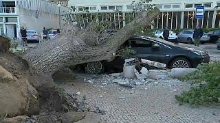 Tempestade Leslie: O rescaldo