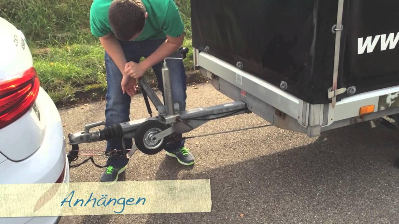 Fahrschule Ruess, Göppingen - Grundfahraufgabe Kl. BE, Anhängen ...