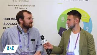 Interview with Charles Hoskinson Founder of IOHK and Cardano @ Malta Blockchain Summit 2018