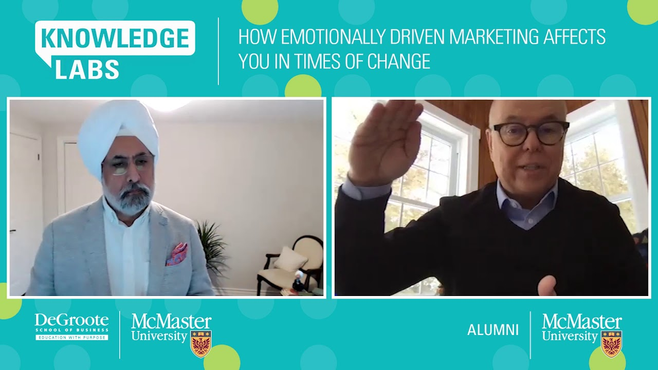 Image for Emotionally Driven Marketing in Times of Change: Terry O'Reilly and Mandeep Malik webinar