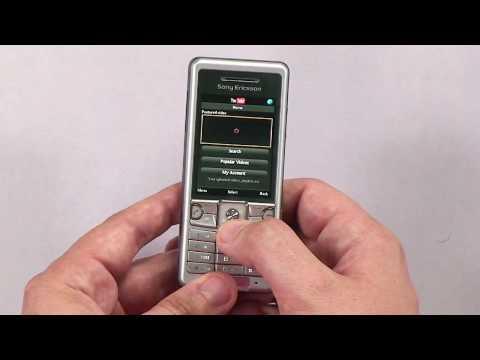 Sony Ericsson C510 telefon - test