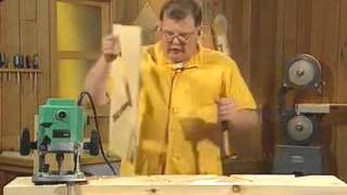 Работа с ручным фрезером Урок 24