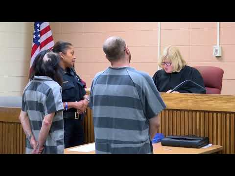 Arraignment of Michigan couple wanted in 4-year-old's death