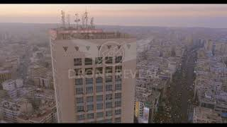 Twin Centers Casablanca Aérial view ii by Drone Reveal