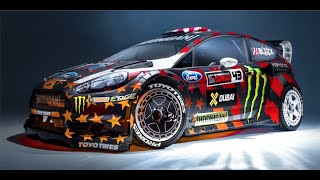 [HOONIGAN] Ken Block's Gymkhana EIGHT livery presented by Toyo Tires thumbnail