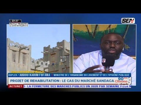 """Abdou K Fofana crache ses vérités aux commerçants """"Sandaga menetoul continé nii ndax amoul sécurité"""""""