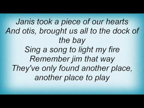 Alan O'Day - Rock And Roll Heaven Lyrics