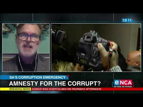 Discussion | Amnesty for the corrupt?