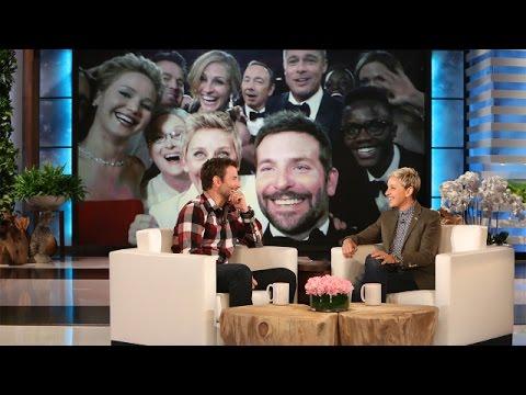 ¿Cómo Bradley Cooper arruinó la famosa selfie de los Oscars 2014?