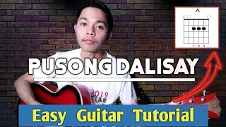 Pusong Dalisay Chords Tutorial   How to play in accoustic guitar (Tagalog)