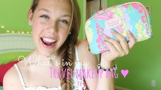 What's in my Travel Makeup Bag? ☼ Thumbnail