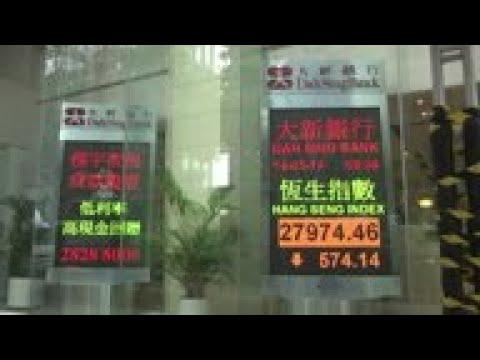 HKong market reacts to tariffs imposed by China