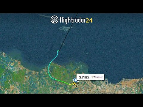 Indonesian Boeing 737 carrying 62 crashes into the sea minutes ...