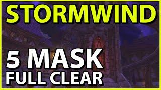 5 Mask FULL CLEAR - Stormwind Horrific Vision (Windwalker Monk)