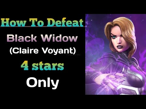 How To Defeat Black Widow (Claire Voyant) Uncollected- Marvel Contest Of Champions