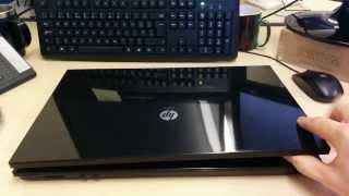 HP PRO 4710s Remove Hard Drive keyboard memory
