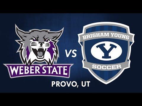 BYU Men's Soccer vs Weber State - 18 October 2017