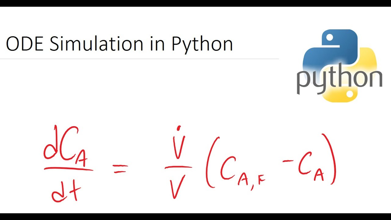 Solve ODEs in Python: Simple to Complex