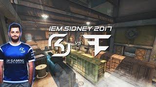 FALLEN comenta jogada EPICA vs FaZe na FINAL da IEM Sydney