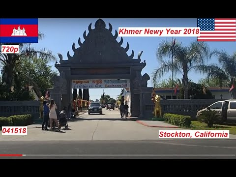 Khmer New Year - April 2018 in Stockton, CA - USA