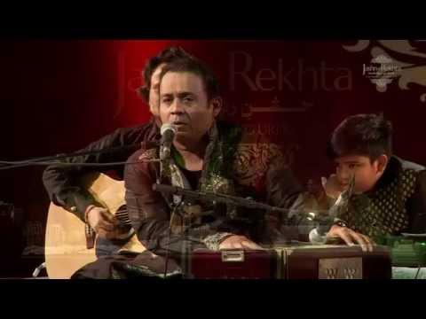 Use bhula ke bhi yaadon ke silsile na gaye - Rafaqat Ali Khan at Jashn-e-Rekhta 2016