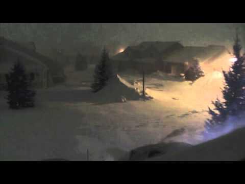 2011 Blizzard Time-Lapse, Grand Rapids, Michigan