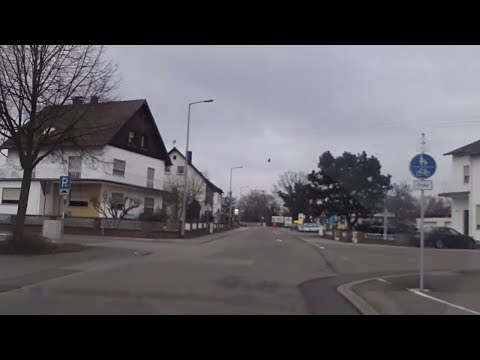 VISITING DOWNTOWN RAMSTEIN, GERMANY - January 7, 2013 - usaaffamily vlog