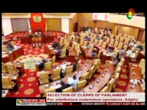 News360 -Political interference undermine parliamentry operations  - Hon. Adjaho