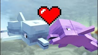 REALISTIC DOLPHIN LIFE IN MINECRAFT! - Minecraft Animation