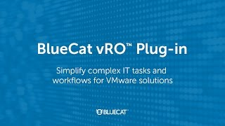BlueCat vRO Plugin
