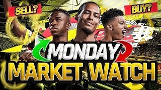 THE IMPACT OF BUYING ON SUNDAY NIGHTS! MONDAY MARKET WATCH! FIFA 20 ULTIMATE TEAM