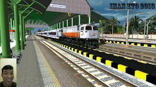 Parodi keberangkatan Kereta Api di stasiun Kutoarjo 🤗