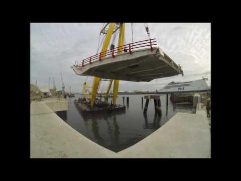 TTS Marine Linkspan Installation161207
