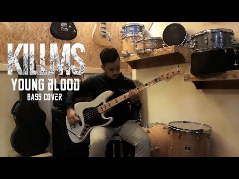 Killing Me Inside - Young Blood (Bass Cover By Dwiky Arsa)