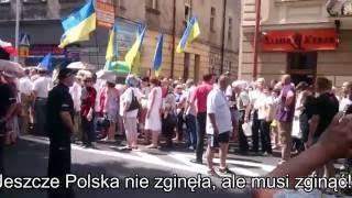 Группа поляков напала на «марш украинцев».(26.06.2016. Из Польши поступили новые сведения, подтверждающие исконное братство поляков с украинцами, а также..., 2016-06-27T11:09:44.000Z)