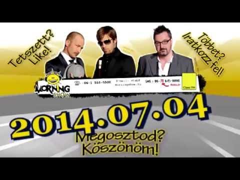 ClassFM MorningShow teljes adás 2014 07 04 Budapesti életkép, Melegfelvonulás, Vagyonőr vizsga
