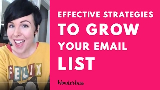 Effective Strategies to Grow Your Email List