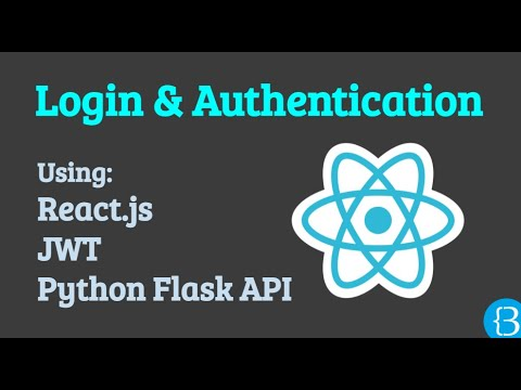 Implementing a login session authentication using React js, Context API and Python Flask API and JWT
