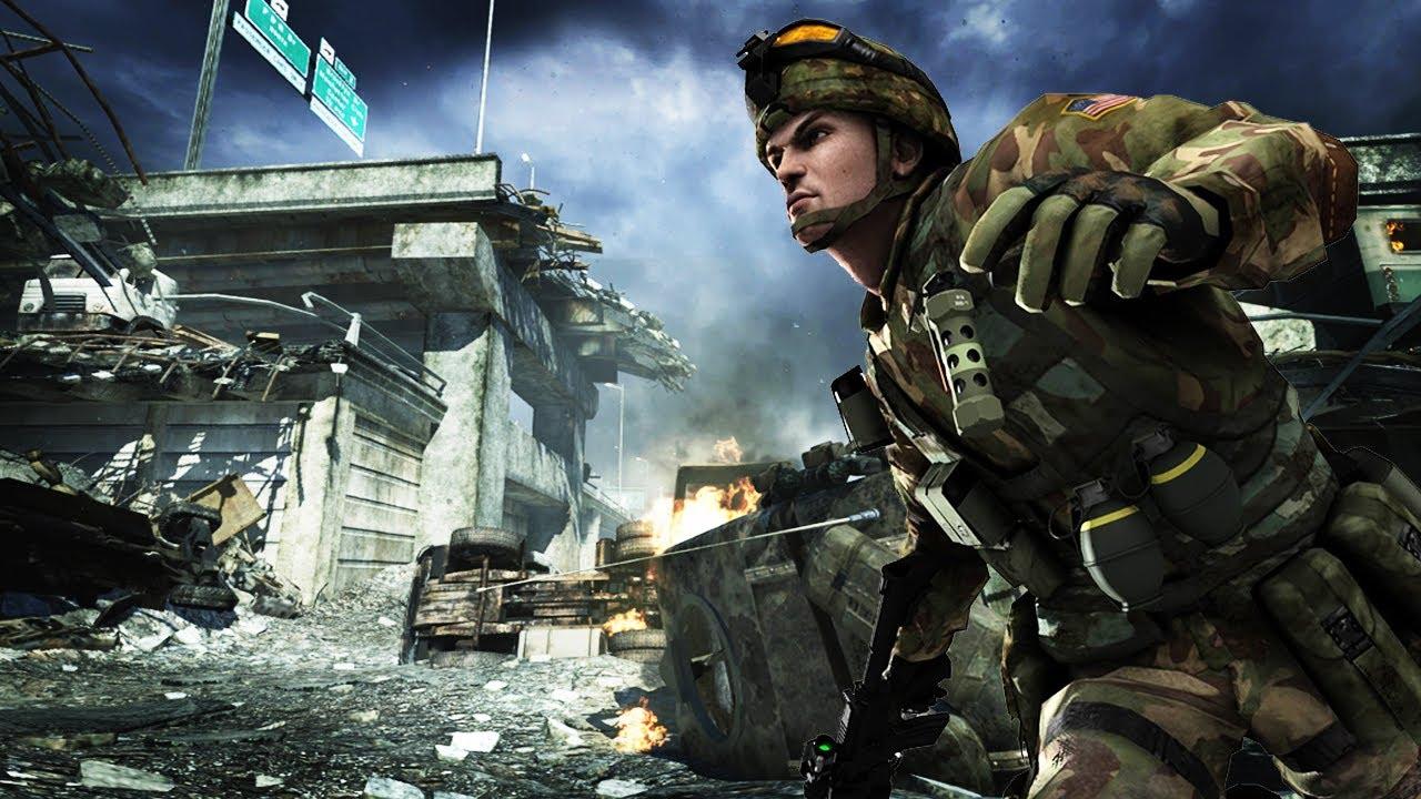 Battlefield 2 Modern Combat Xbox Vs Xbox 360 Youtube
