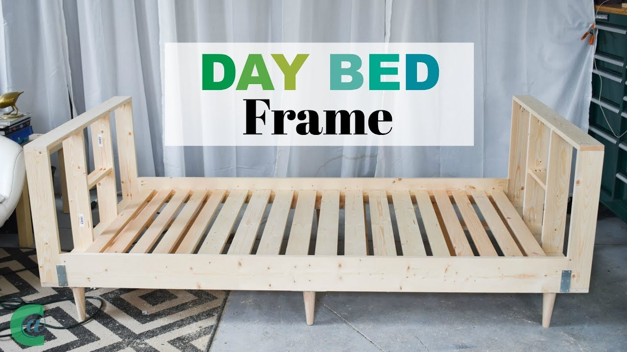 Daybed Frame Tutorial - YouTube