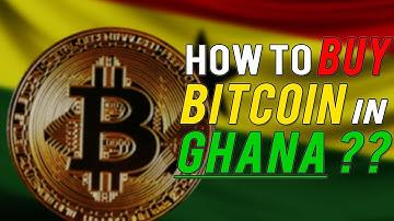 How to Buy BITCOIN in GHANA ?? BEST WAY !!