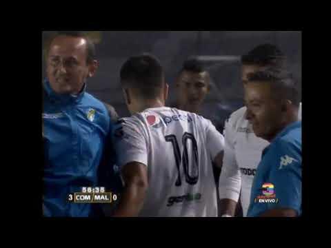 Tercer gol de Comunicaciones ante Malacateco