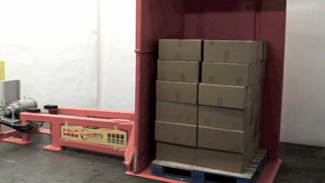 Stationary Load Inverter Pallet Inverter Bulle Pallet: Pallet/Freezer Spacer Recovery System