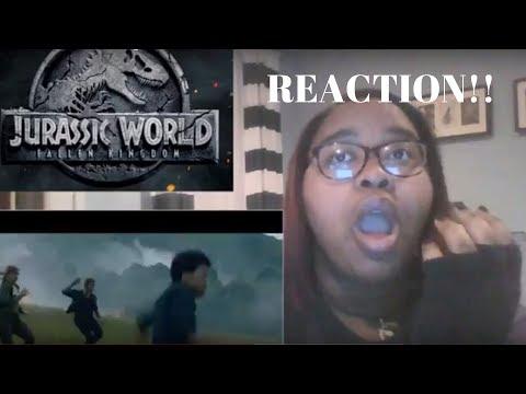 Jurassic World United Kingdom Trailer REACTION!!
