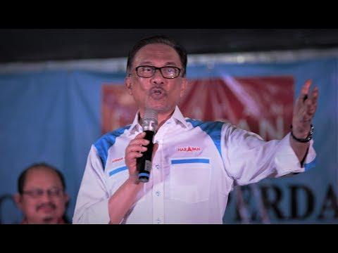 (30/09/2018) Anwar Ibrahim: Ceramah Perdana Di Port Dickson