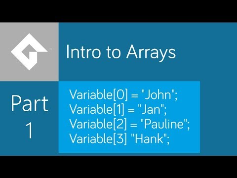 Arrays in GameMaker Studio – Part 1