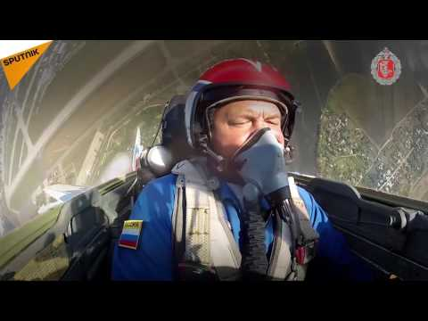 Russian Air Force Celebrates Its Anniversary